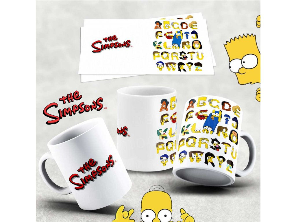 Hrneček s motivem Simpsonovi- 15