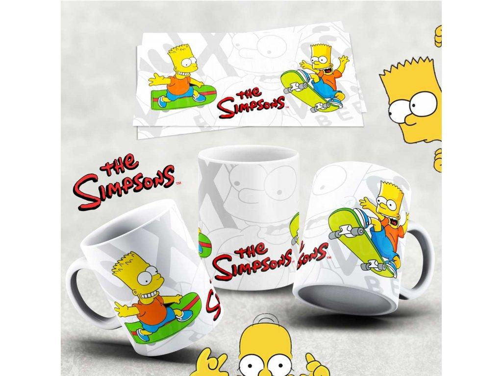 Hrneček s motivem Simpsonovi- 20