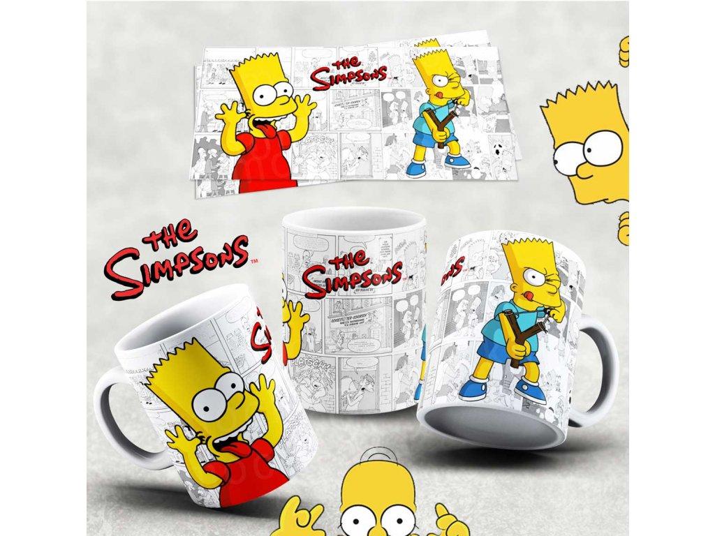 Hrneček s motivem Simpsonovi- 22