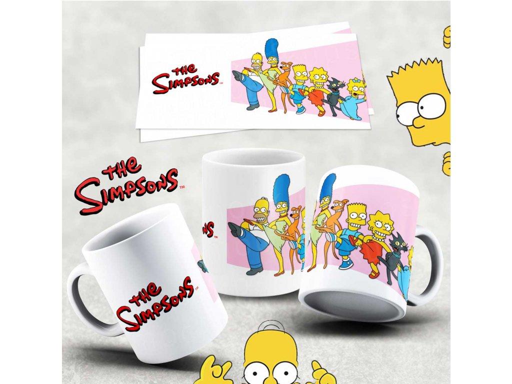 Hrneček s motivem Simpsonovi- 24