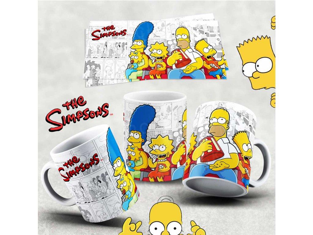 Hrneček s motivem Simpsonovi- 25