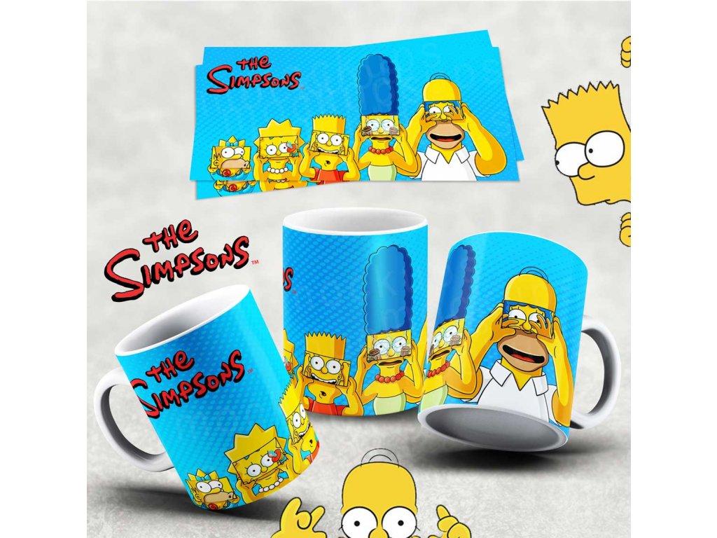 Hrneček s motivem Simpsonovi- 26