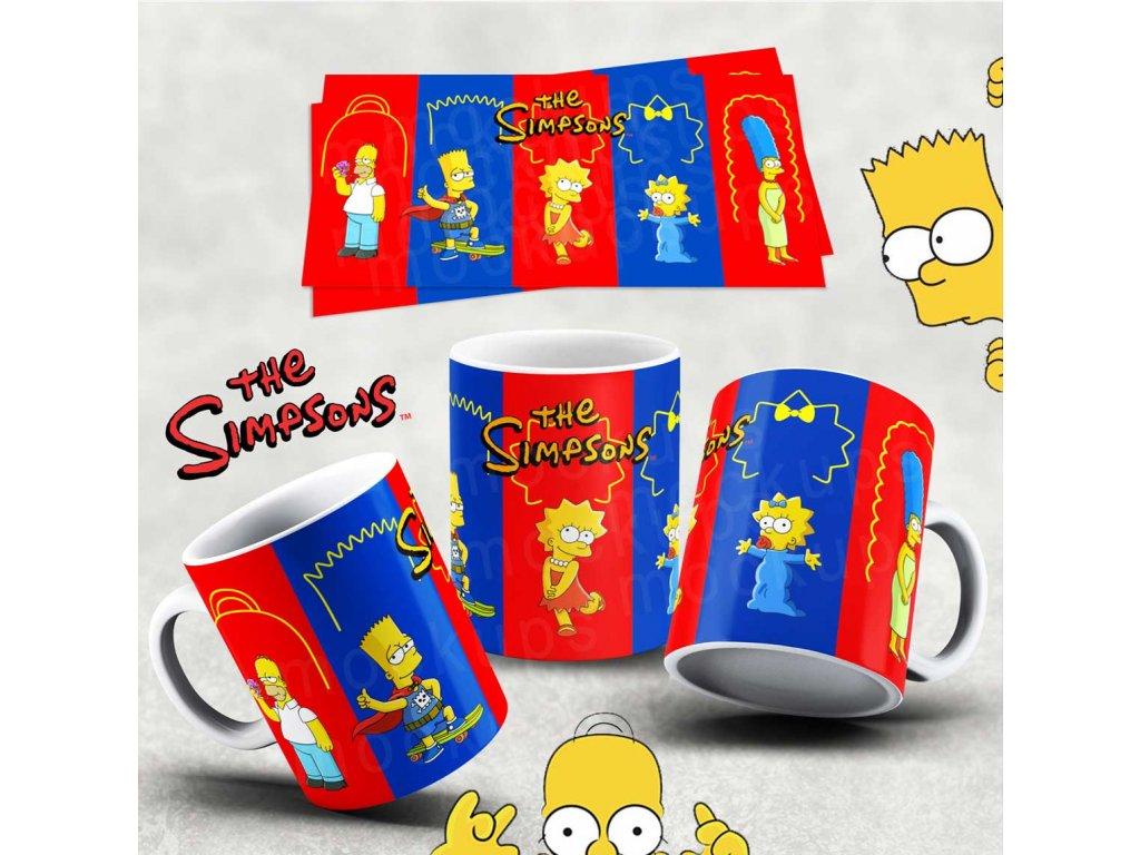 Hrneček s motivem Simpsonovi- 29