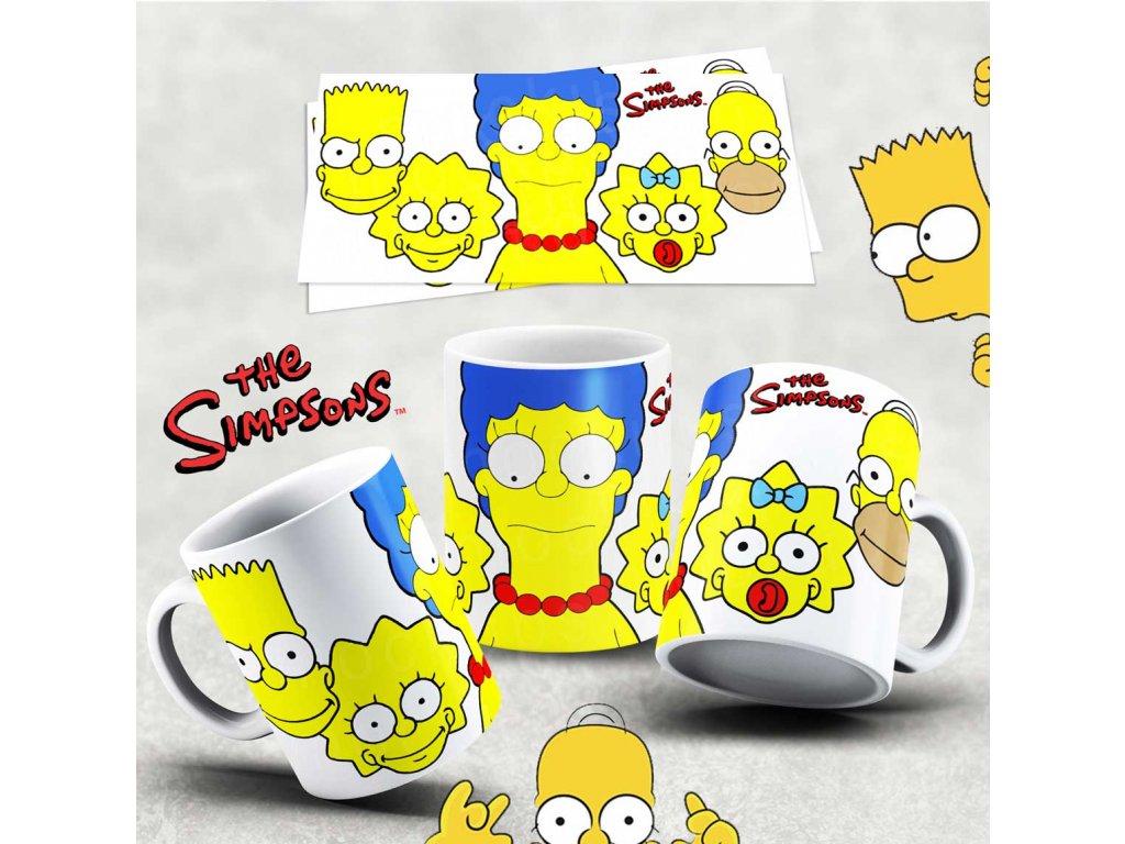 Hrneček s motivem Simpsonovi- 33