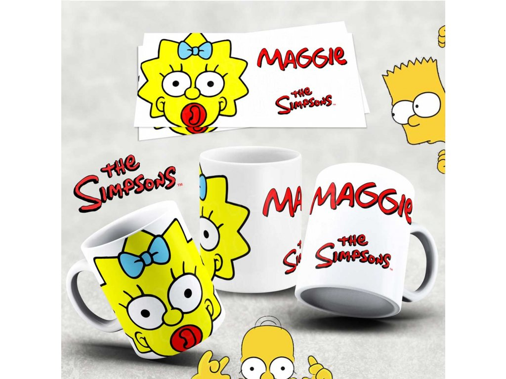 Hrneček s motivem Simpsonovi- 36