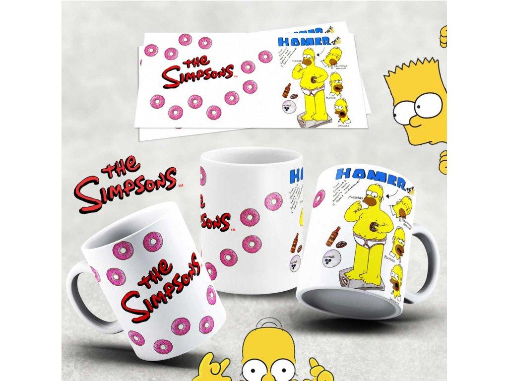 Hrneček s motivem Simpsonovi- 40
