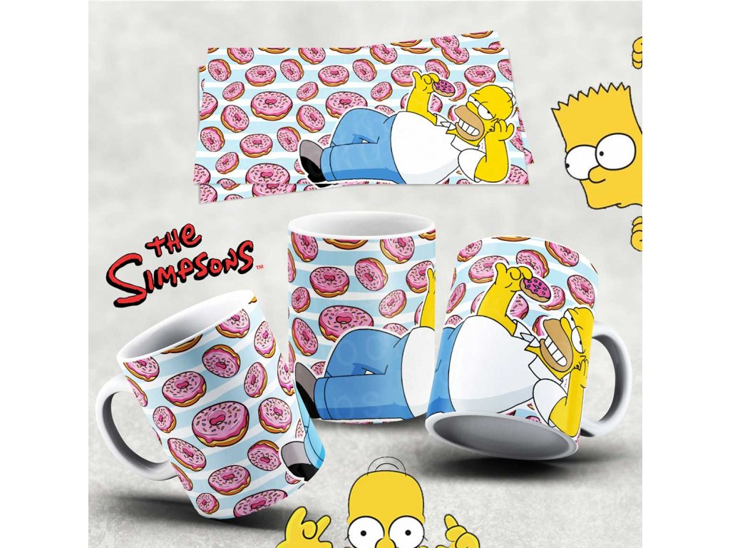 Hrneček s motivem Simpsonovi- 45