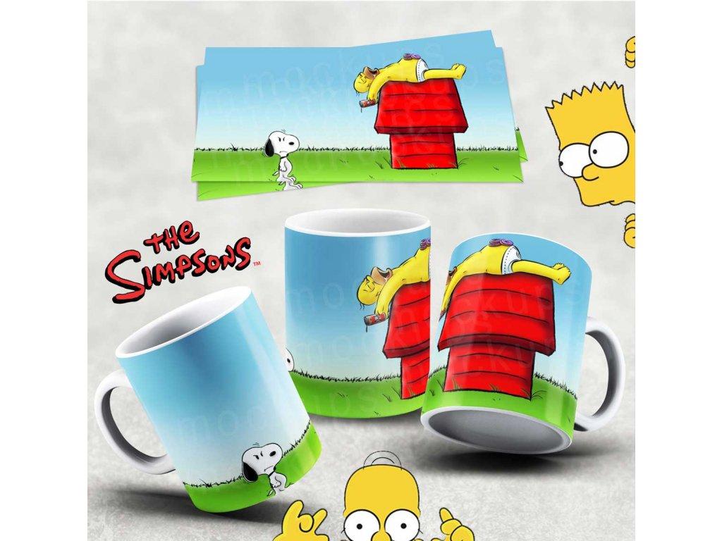 Hrneček s motivem Simpsonovi- 51