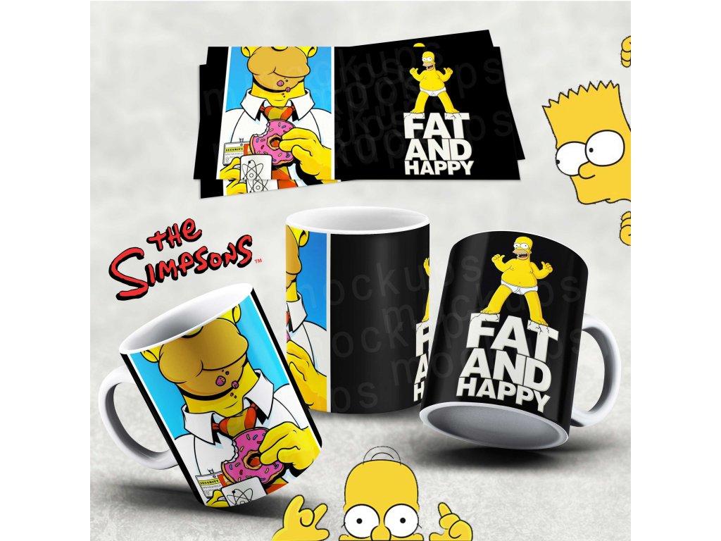 Hrneček s motivem Simpsonovi- 53