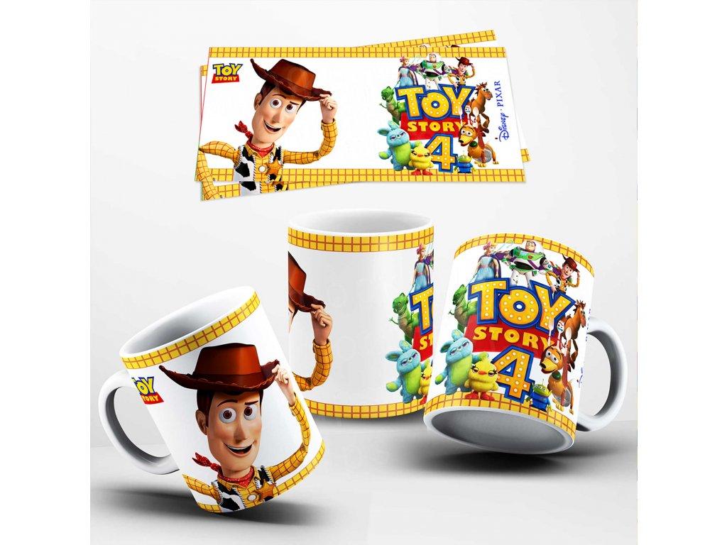 Hrneček s motivem-  Toy Story 1