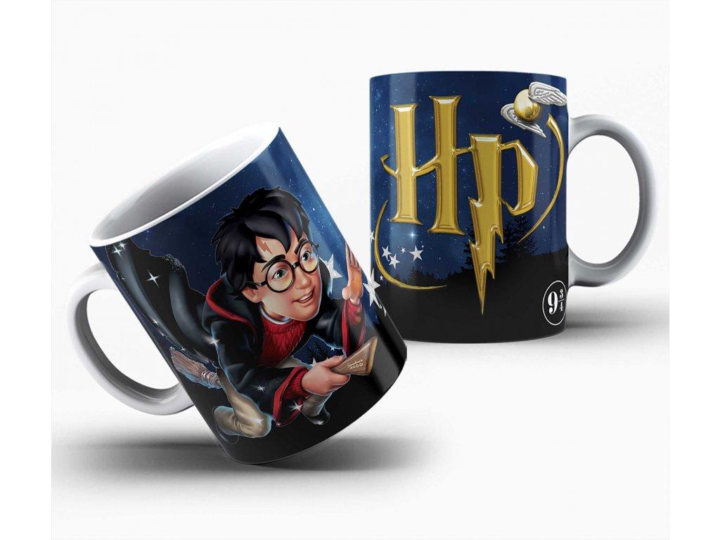 Hrneček s motivem-  Harry Potter 7