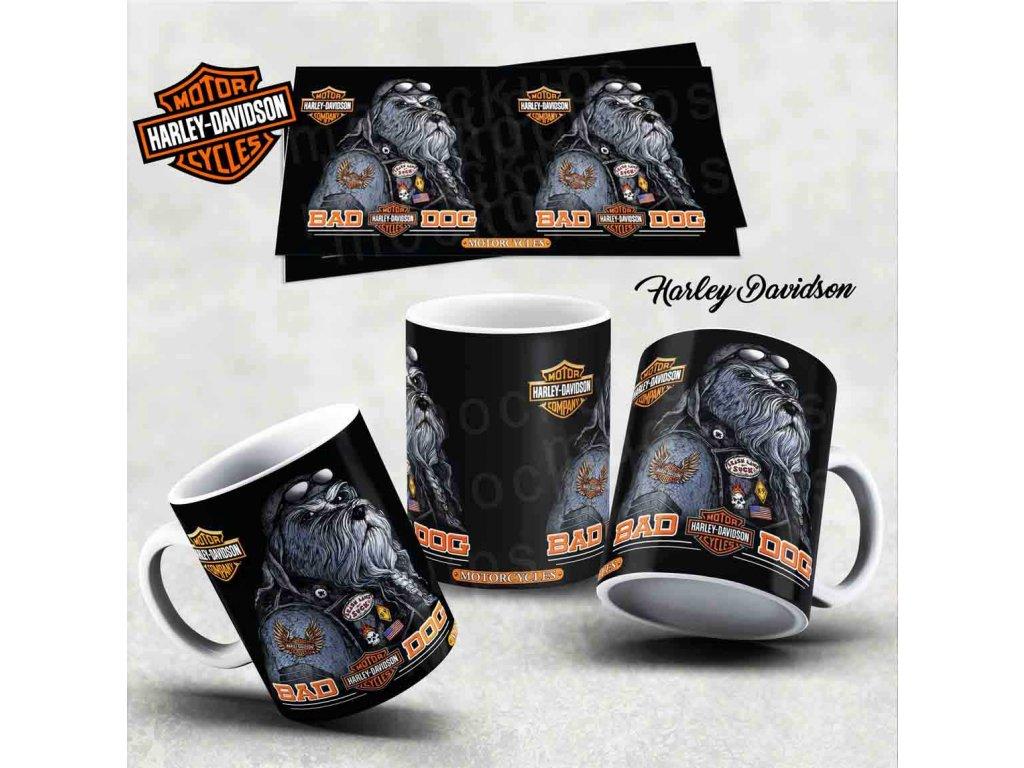 Hrneček s motivem-  Harley Davidson 15