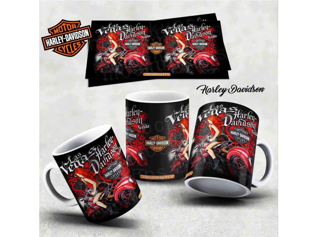 Hrneček s motivem-  Harley Davidson 26