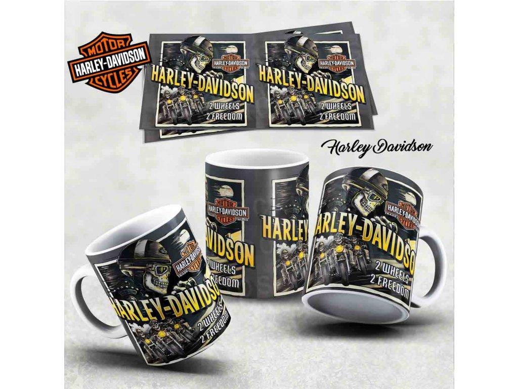 Hrneček s motivem-  Harley Davidson 30
