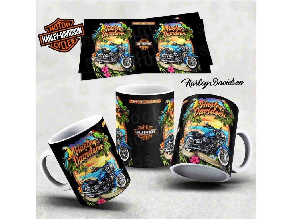 Hrneček s motivem-  Harley Davidson 32
