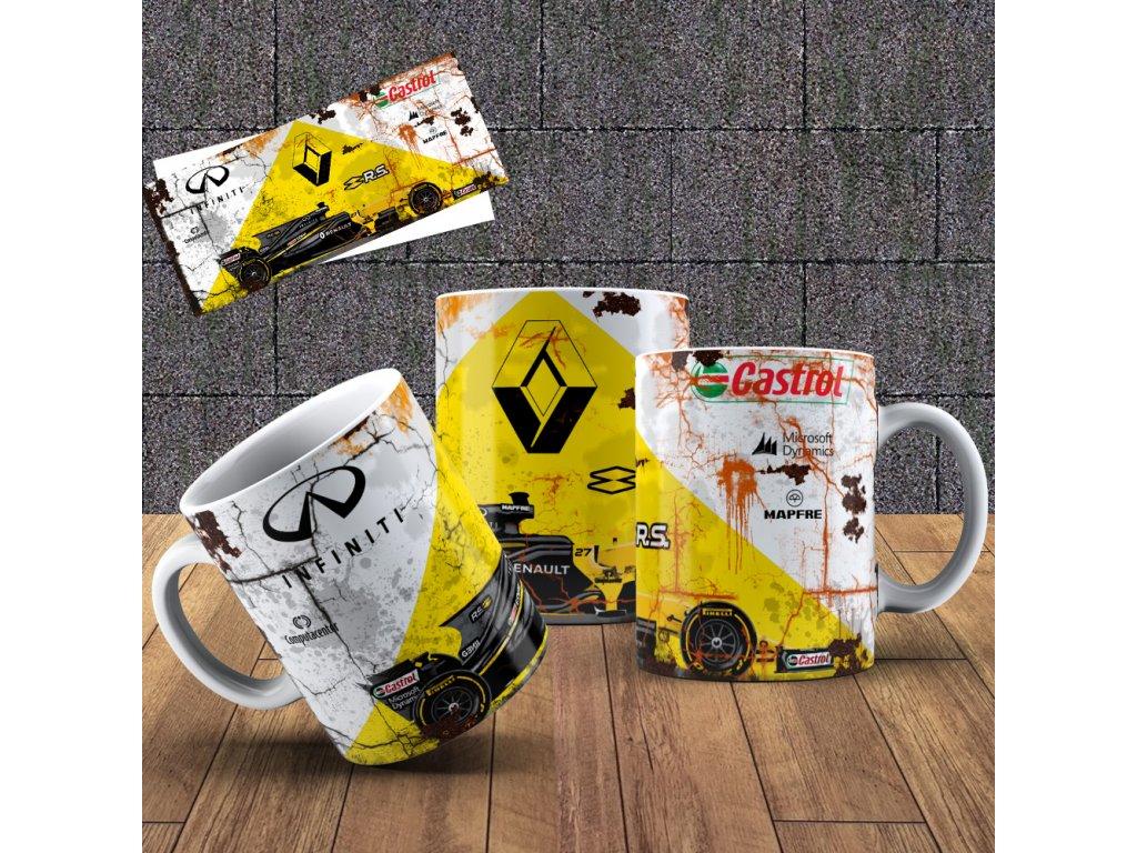 Hrneček s motivem Formule - Renault