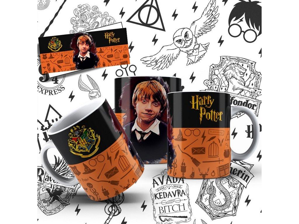Hrneček s motivem-  Harry Potter 15
