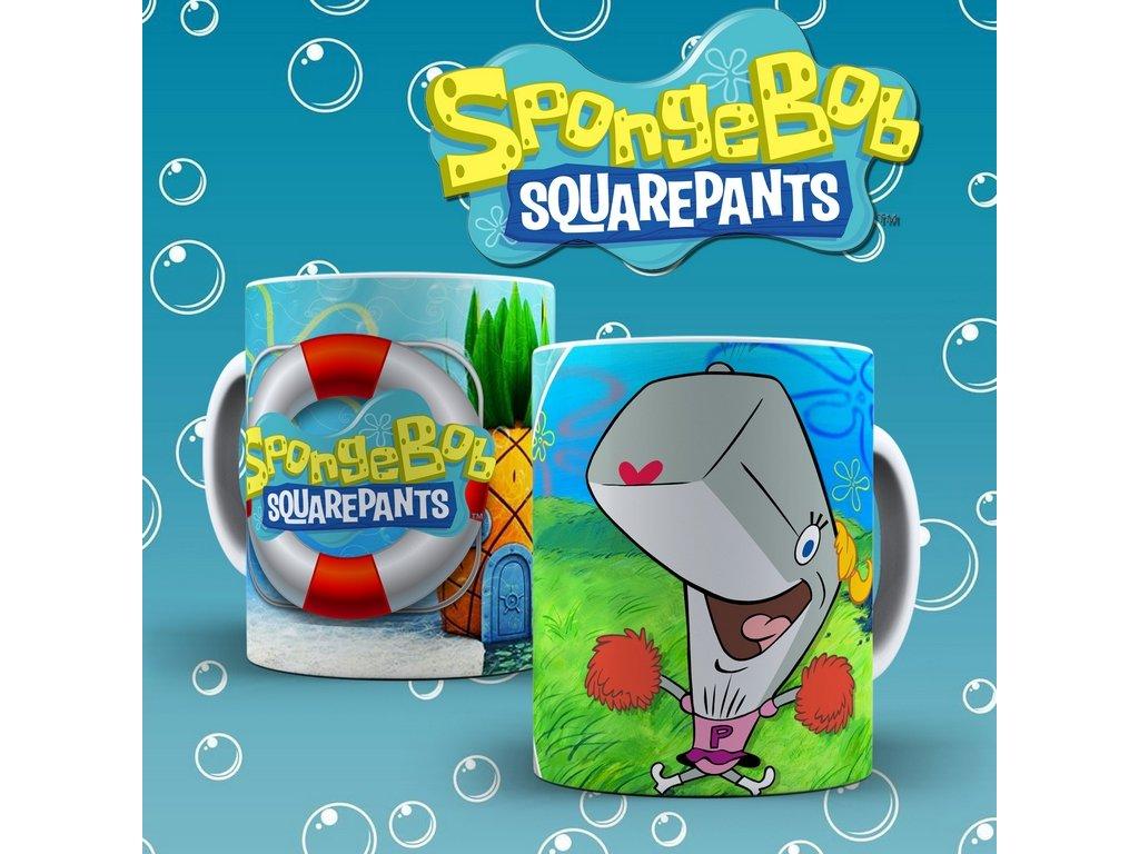 Hrneček s motivem ze seriálu  SpongeBob 6