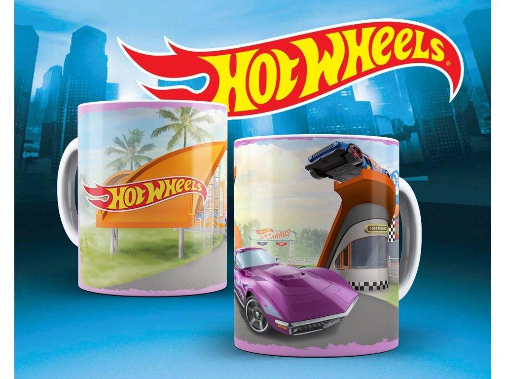 Hrneček s motivem ze seriálu  Hot wheels 10