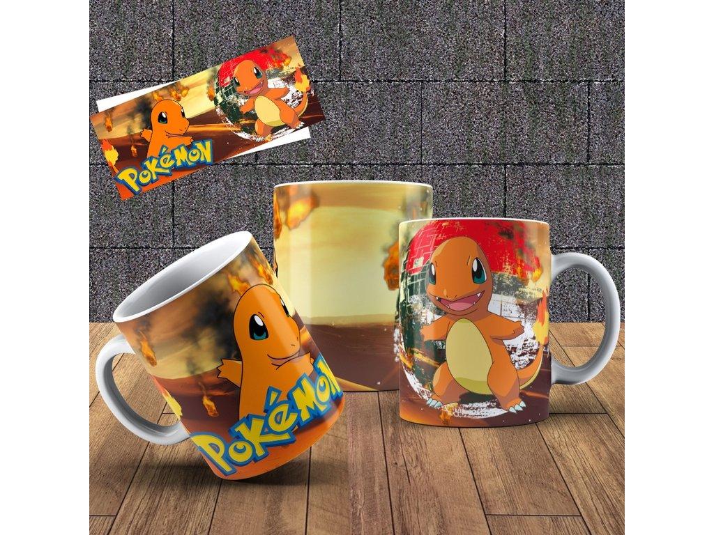 Hrneček s motivem ze seriálu  Pokémon 3