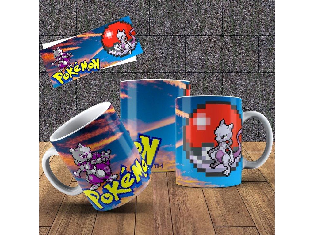Hrneček s motivem ze seriálu  Pokémon 9