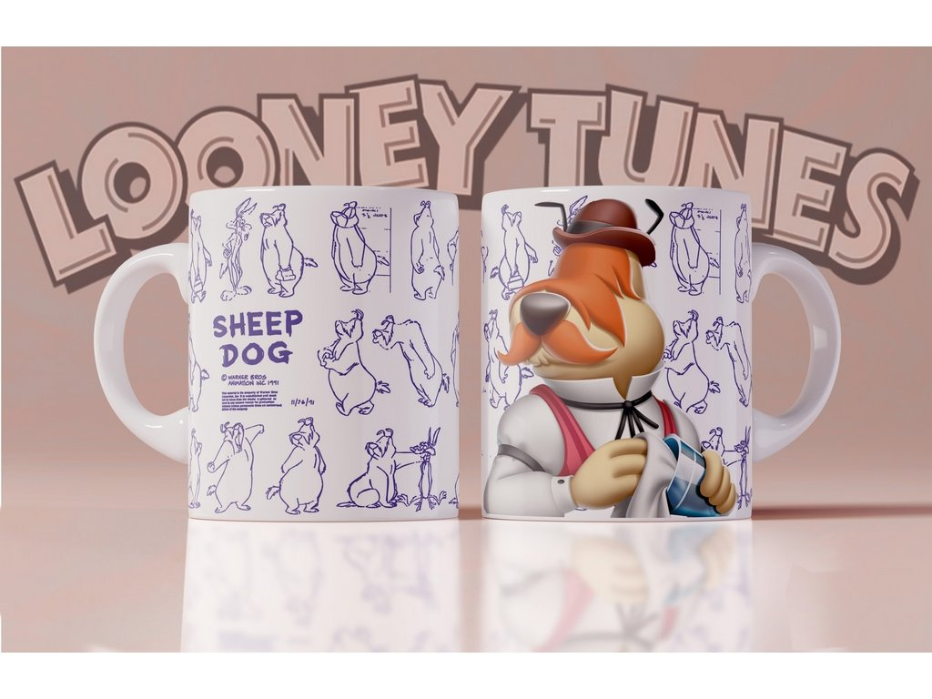 Hrneček s motivem ze seriálu  Looney Tunes 5