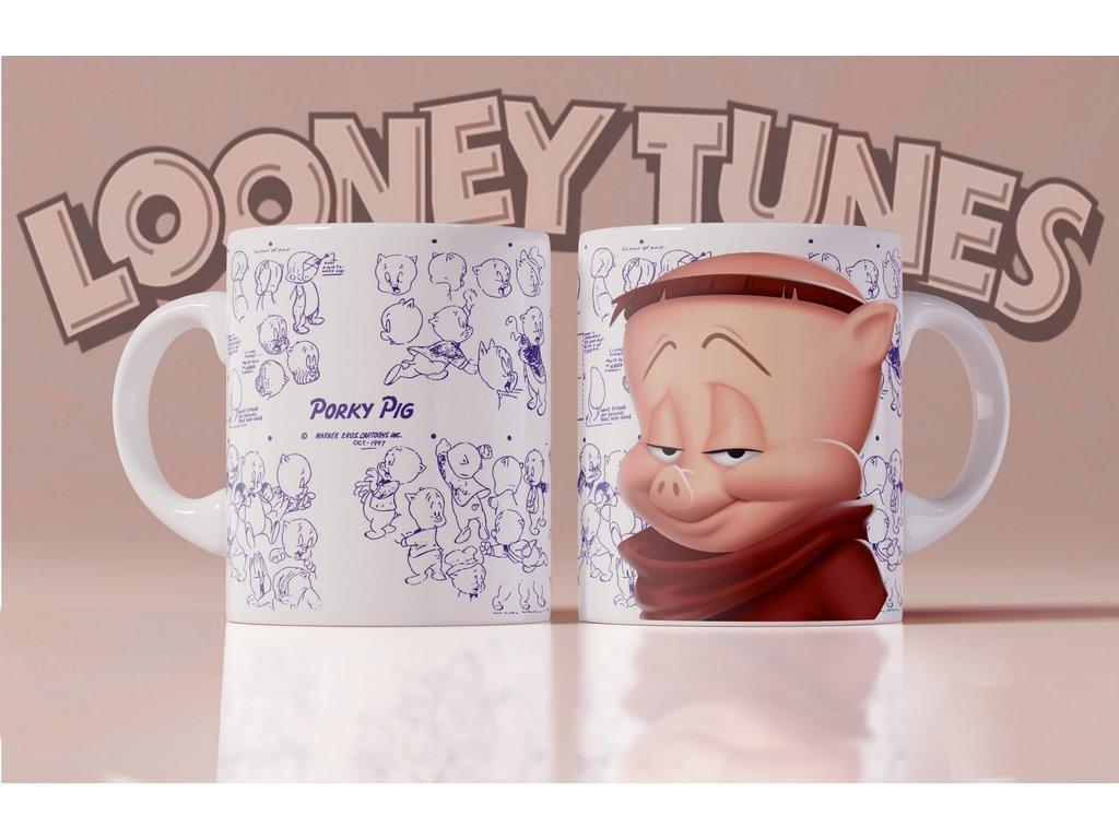 Hrneček s motivem ze seriálu  Looney Tunes 6
