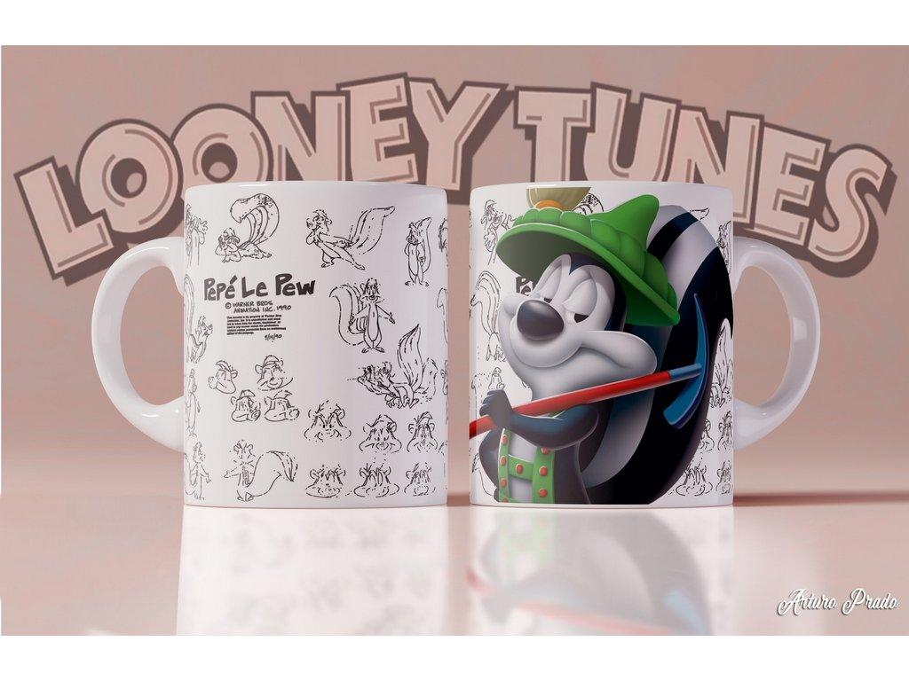 Hrneček s motivem ze seriálu  Looney Tunes 7