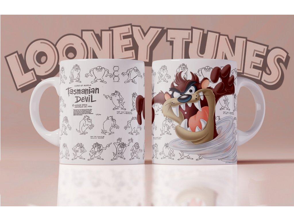 Hrneček s motivem ze seriálu  Looney Tunes 20