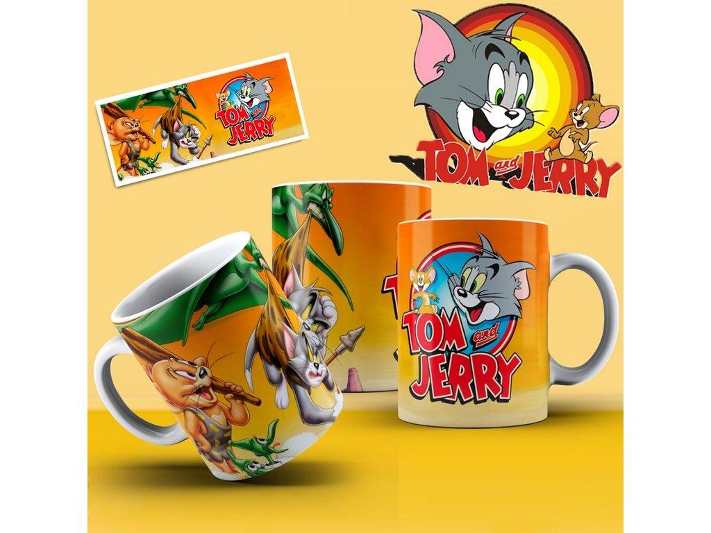 Hrneček s motivem ze seriálu  Tom a Jerry 8