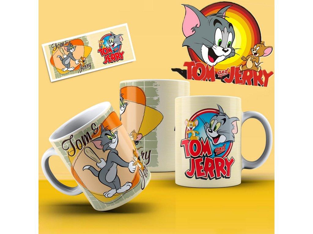 Hrneček s motivem ze seriálu  Tom a Jerry 12