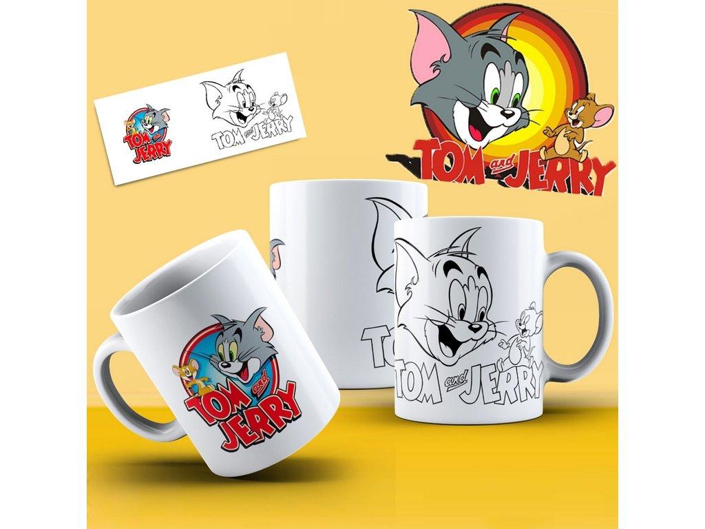 Hrneček s motivem ze seriálu  Tom a Jerry 14