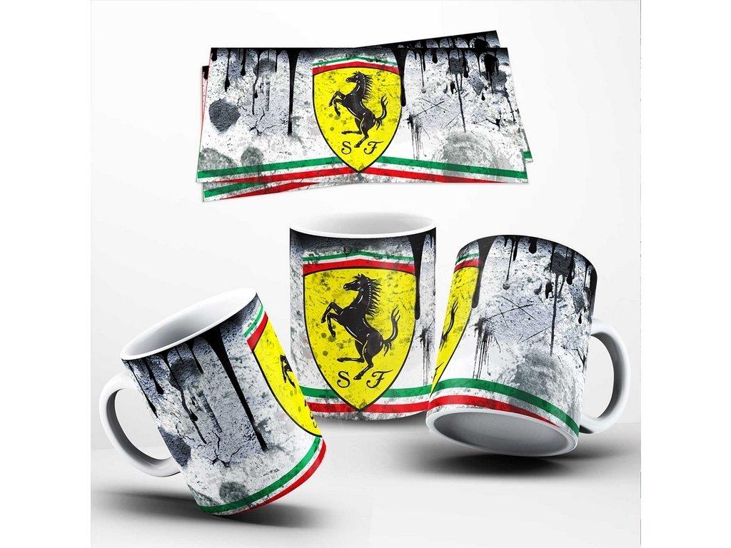 Hrneček se značkou vozů Ferrari 013