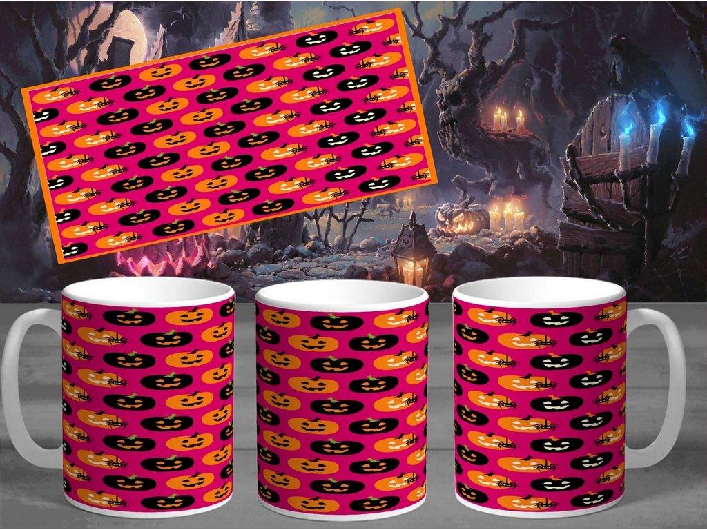 Halloweenský hrneček- Halloween 1