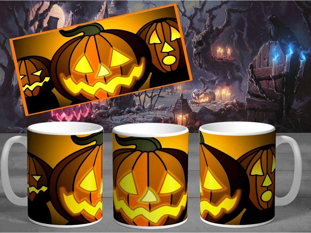 Halloweenský hrneček- Halloween 10