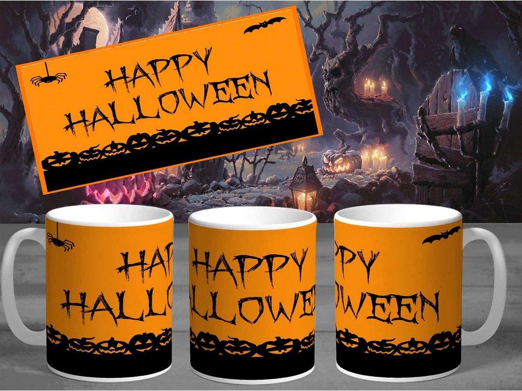 Halloweenský hrneček- Halloween 18