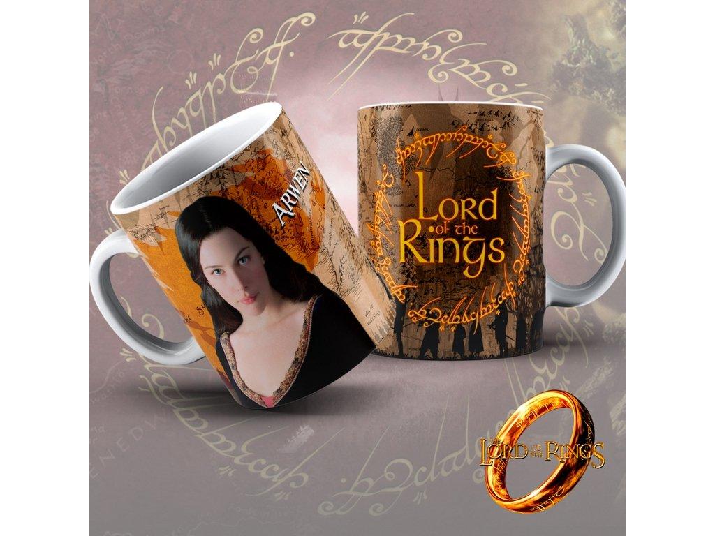 Hrneček z filmu Lord of the rings / Pán Prstenů- Arwen
