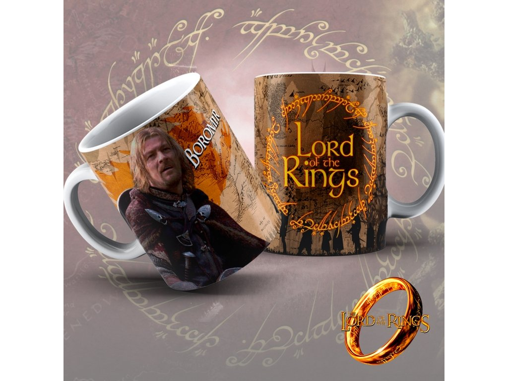 Hrneček z filmu Lord of the rings / Pán Prstenů- Boromir