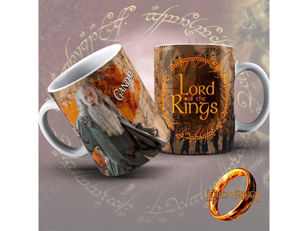 Hrneček z filmu Lord of the rings / Pán Prstenů- Gandalf
