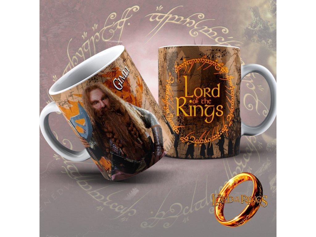 Hrneček z filmu Lord of the rings / Pán Prstenů- Gimli