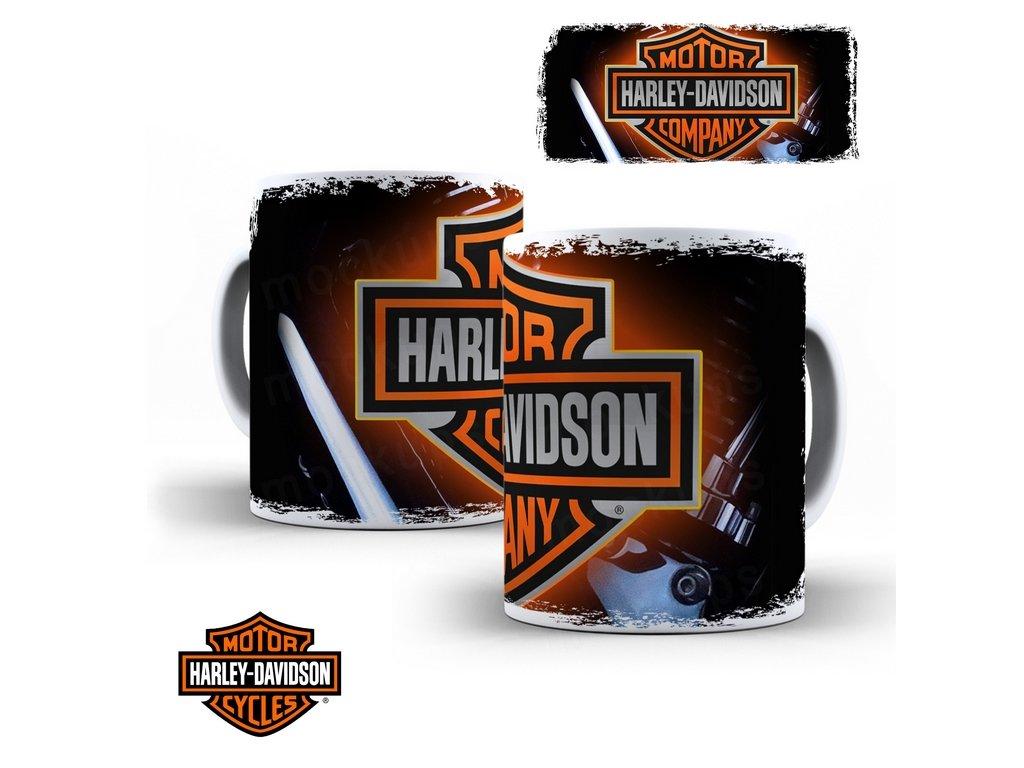 Hrneček s motivem-  Harley Davidson 40