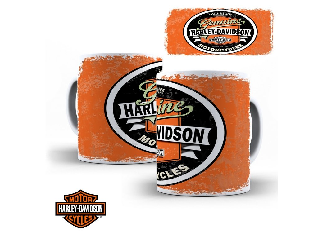 Hrneček s motivem-  Harley Davidson 41