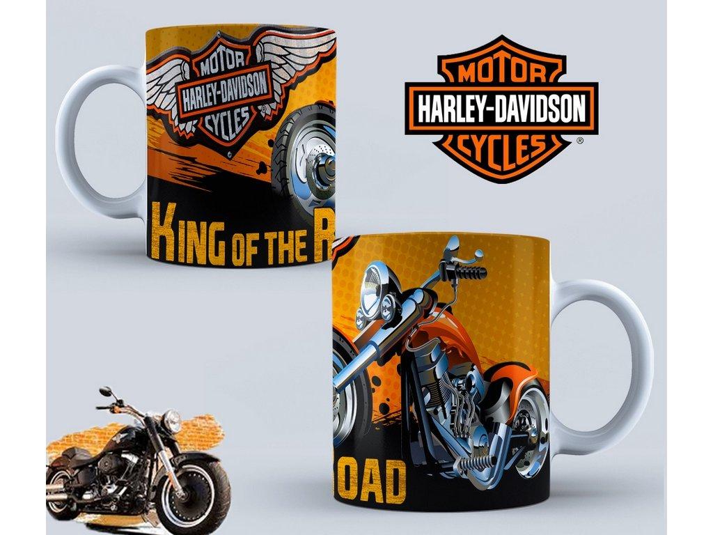 Hrneček s motivem-  Harley Davidson 45
