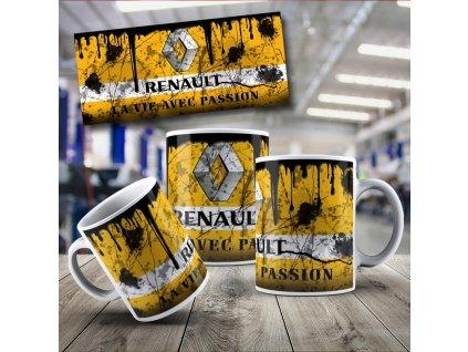 Hrneček s motivem Renault