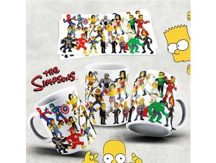 Hrneček s motivem Simpsonovi- 1