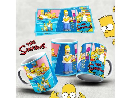 Hrneček s motivem Simpsonovi- 2