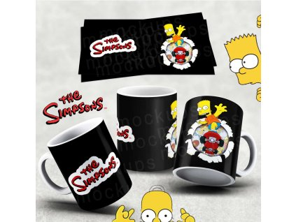 Hrneček s motivem Simpsonovi- 21