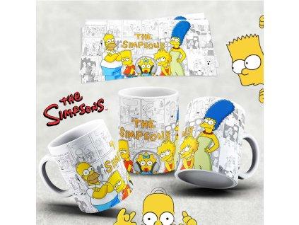 Hrneček s motivem Simpsonovi- 27