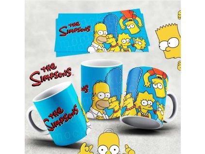 Hrneček s motivem Simpsonovi- 28