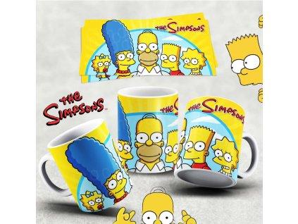 Hrneček s motivem Simpsonovi- 31